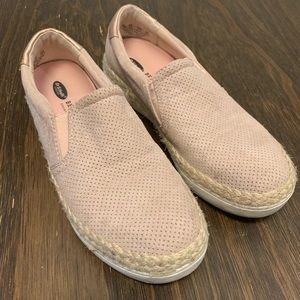 Slip On Espadrille Sneakers